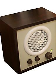 madera con la función de la radio estéreo