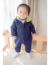 Baby Kleidungs Set,Lässig/Alltäglich einfarbig-Baumwolle-Frühling Herbst-