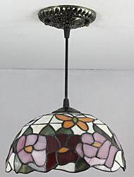 25W Lámparas Colgantes ,  Tiffany / Retro Pintura Característica for Mini Estilo Vidrio Dormitorio / Vestíbulo