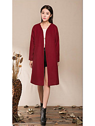 Cheap Z1291-season and winter clothes Chinese style national wind woolen coat wool coat woolen coat it