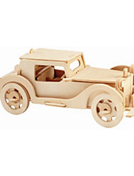 Jigsaw Puzzles Wooden Puzzles Building Blocks DIY Toys Car 1 Wood Ivory Puzzle Toy