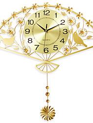 Moderne/Contemporain Niches Horloge murale,Nouveauté Fer 62*64cm Intérieur Horloge