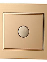 86 de alumínio atraso de desenho do fio escondido toque interruptor interruptor de toque corredor