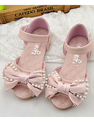 Girl's Sandals Others PU Casual Pink White