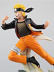 Косплей Naruto Uzumaki PVC 31*19*31CM Аниме Фигурки Модель игрушки игрушки куклы