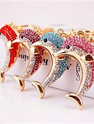 Cool Hee Jewelry Creative Fashion New Automobile Ornaments Keychain Smart Dolphin Keychain Bag Pendant 486
