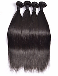 Peruvian Virgin Hair Silk Straight 4 Bundles/Lot Peruvian Hair Weave Bundles Soft Top Hair Extensions Tangle Free