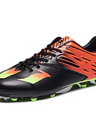 Femme-Décontracté / Sport-Noir / Bleu / Jaune / Orange-Talon Plat-Confort-Chaussures d'Athlétisme-Similicuir