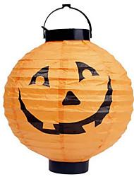 Halloween Pumpkin Light Paper Lanterns Portable Lanterns Venue Layout Props Halloween Lighting