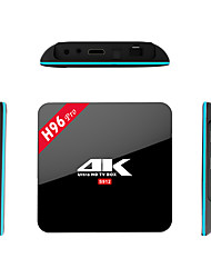 H96 Pro Amlogic S912 Android Box TV,RAM 2GB ROM 16Go Huit Cœurs WiFi 802.11n Bluetooth 4.0