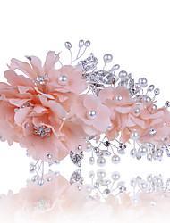 Mulheres Tule Tecido Capacete-Casamento Ocasião Especial Casual Clip para o Cabelo 1 Peça