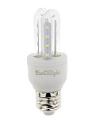 YouOKLight E27 3W 210lm Warm White/White Light  16 SMD 2835 LED Corn Lamps (AC 85265V)