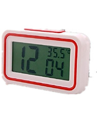 Large Screen Electronic Night Light Mute Alarm Clock
