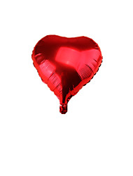 Note The Heart-Shaped 18-Inch Red Package 10 Sold Celebration Decoration Aluminum Balloon Birthday Wedding Party Arrangement