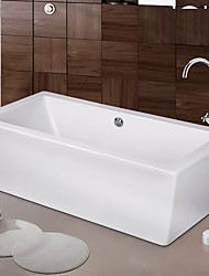 Contemporary / Art Deco/ Modern Tub And Shower Waterfall /  Floor Standing with  Ceramic Valve Two Handles One Holefor