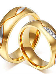 18 carat gold plating with micro couple ring