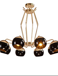 Clothing Store Cafe tea Restaurant lamps And lanterns Is Europe Type Droplight Of Golden Magic Beans