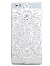 Pour huawei p9 p8 lite housse couvrir toutes les fleurs motif tpu matériel téléphone coque pour y5c y6 y625 y635 5x 4x g8