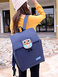 Unisex Canvas Casual School Bag