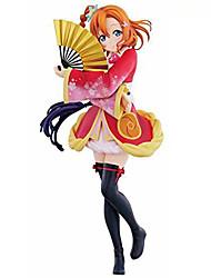 Люблю жить Honoka Kōsaka PVC 15cm Аниме Фигурки Модель игрушки игрушки куклы