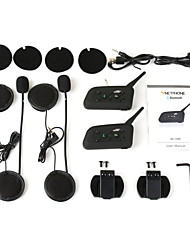 Motorcycle Helmet Bluetooth Intercom InterphoneV6-2 The new packing