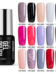 Nail Polish UV Gel  7 1 UV Color Gel Soak off Long Lasting
