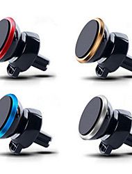 Car Holder Mobile Phone Car Mount Magnetic Air Vent Mount GPS Stand 360 Adjustable For iphone 5 6 7 Plus
