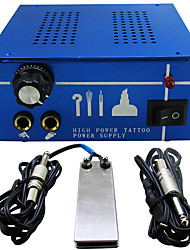 Tattoo Professional Kit Dual Machine  Tattoo Power Supply  clip cord foot pedal P131-2