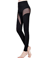Women Solid Color Legging,Core Spun Yarn Cotton