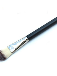 1 Foundation Brush Synthetic Hair Professional / Portable Wood Handle Face