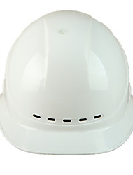 дышащий ударопрочный шлем на строительной площадке (белый)