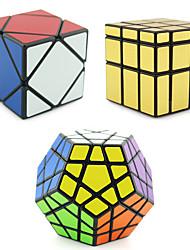 Shengshou® Cube velocidade lisa Alienígeno / MegaMinx / Skewb profissional Nível Alivia Estresse / Cubos Mágicos Dourada / Prateada