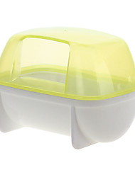 Bathroom Washroom Sauna Sweathouse S Yellow for Small Animal Hamster Rat Mouse