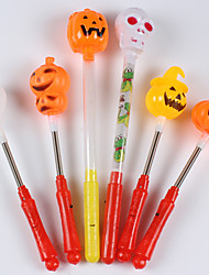 Halloween Props Cosplay Accessories Carnival New Year Flash Sticks Pumpkin Light Hand Bar KTV Concert Props
