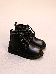 Girl's Boots Others Leatherette Casual Black / Brown