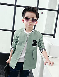 Boy's Casual/Daily Solid Suit & BlazerNylon Fall Brown / Green