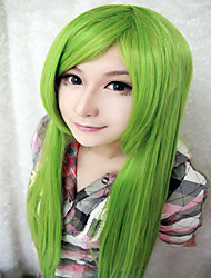 High Quality New Project Kagiyama 39 Inches Long Straight Light Green Cosplay Wigs