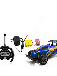 Car Racing 566-106 110 Brush Electric RC Car / 2.4G Red / Blue Ready-To-Go Remote Control Car