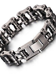 Kalen New Bike Chain Bracelet Cool Biker Bicycle Chain Men's Bracelet Fashion 316L Stainless Steel Hand Chains