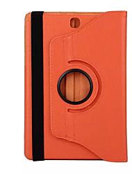 """Capa Protetora Pele PU Case Capa Para 8 """" Samsung"""