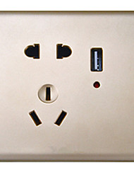 usb socket cinq trous