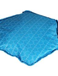 Cachorro Camas Animais de Estimação Capachos e Alcochoadas Azul / Roxo Tecido