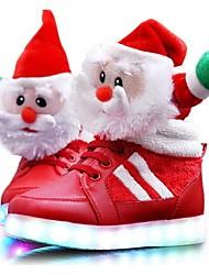 Para NiñoConfort-Zapatillas de deporte-Casual-PU-Rojo