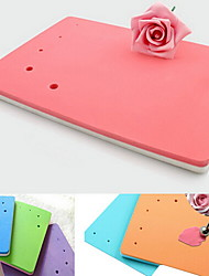 Fondant Cake Decorating Foam Pad Sugarcraft Flower Modelling Pad (Random Color)