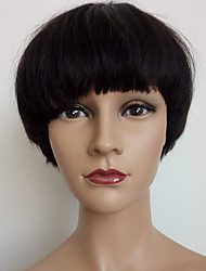 2017 New Arrival Machine Made Short Bob Wig Brazilian Human Hair Bob Cut Wig No Lace Bob Wig