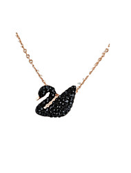 Necklace Pendant Necklaces Jewelry Daily Animal Design Alloy Women 1 pair Gift Black