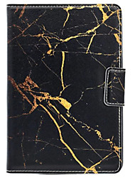 For  Magnetic With Stand Case Full Body Case Marble Hard PU Leather for Apple iPad Mini 4 / iPad Mini 3/2/1