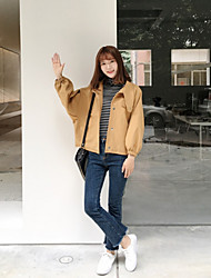 Sign loose cotton jacket