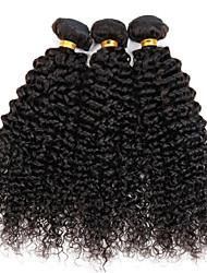 Tissages de cheveux humains Cheveux Brésiliens Très Frisé 12 mois 5 Pièces tissages de cheveux