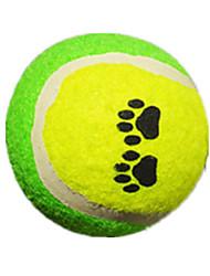 Jouet pour Chien Jouets pour Animaux Balle Tennis Caoutchouc